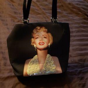 Marilyn  monroe  embossed  tote